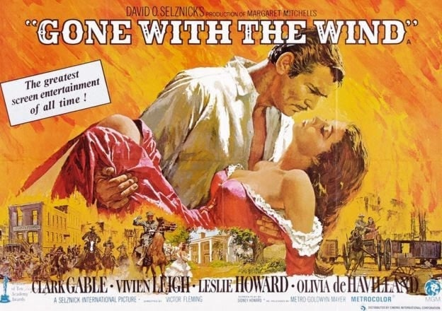 'Gone with the Wind 1939' Vivien Leigh Selznick International Pictures
