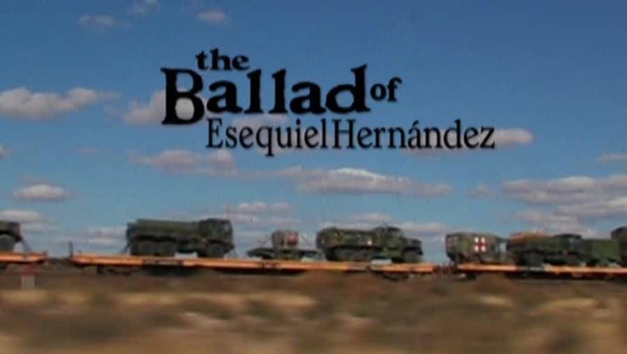 'The Ballad of Esequiel Hernández 2020' Tommy Lee Jones – Reviews