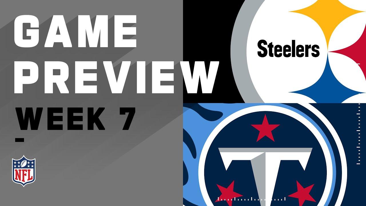 Pittsburgh Steelers vs. Tennessee Titans | NFL Week 7 Game