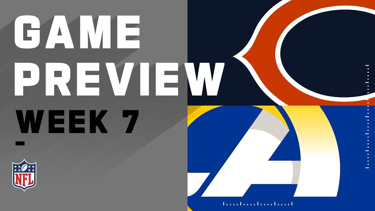 Chicago Bears vs. Los Angeles Rams | NFL Week 7 Game